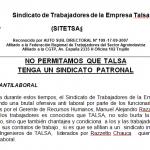 Comunicado de TALSA, Opinión Final.