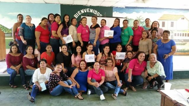 Mujeres sindicalistas agrícolas, conmemoran el día de la Mujer Hondureña.
