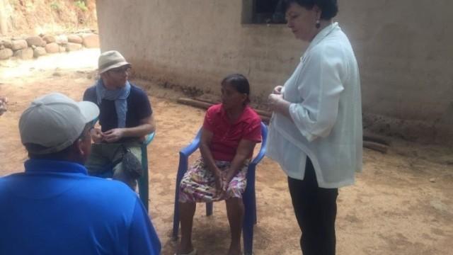 Honduras: Secretaria General de la CSI visita afiliados/as del STAS en la Zona Sur