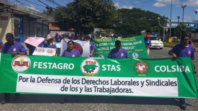 Mujeres conmemoran 8 de Marzo en el Sur de Honduras
