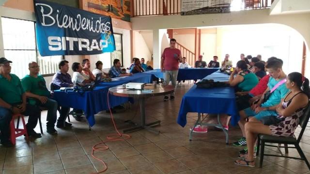 SITRAP continúa Programa de Capacitación