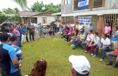 El Sindicato de Trabajadores de Plantaciones Agrícolas y la Seccional de la ANEP de Obreros Bananeros y Agrícolas de Sarapiquí se reunieron este domingo