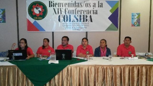 Inicia la XIV Conferencia de la COLSIBA