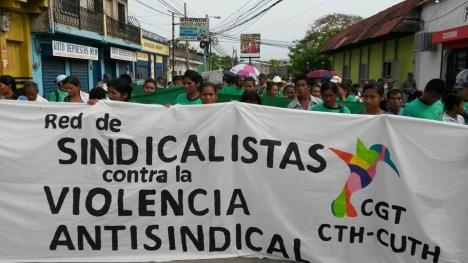 Pronunciamiento: Red de Sindicalistas contra la Violencia Antisindical de Honduras