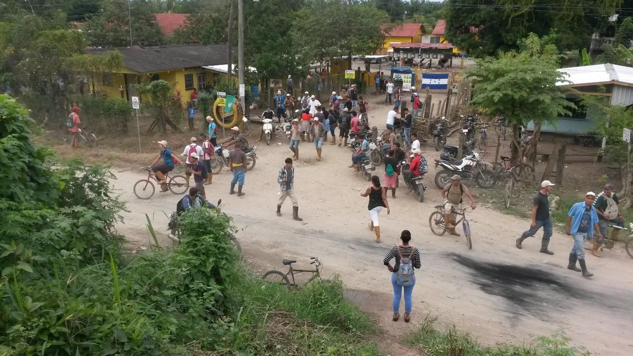 Honduras: Represión a Trabajadores de Agromeza