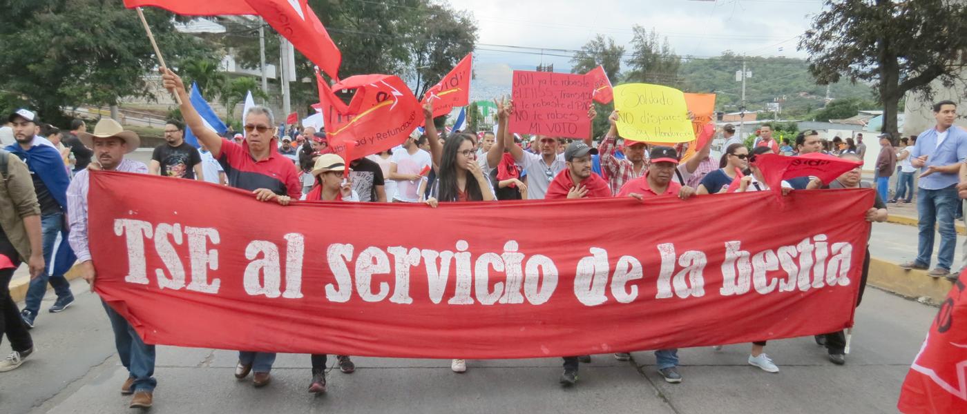Honduras: Tribunal Electoral dice que ganó Hernández